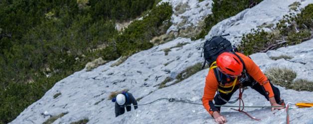 Plezanje v Staničevem vrhu