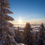 Sončni vzhod na Blegošu