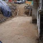 Vse je pripravljeno za podložni beton.