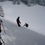 Prerez snežne odeje