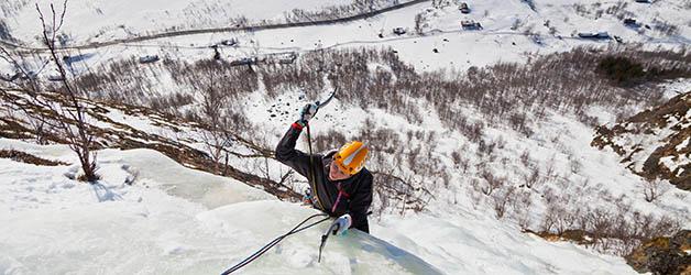 Predavanje: Ledno plezanje v Hemsedalu