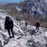 """Sestop """"čez"""" vrh Anića Kuka"""